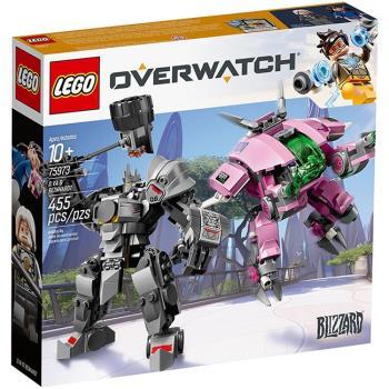 LEGO樂高積木 - Overwatch 鬥陣特攻系列 - 75973 D.Va x 萊因哈特