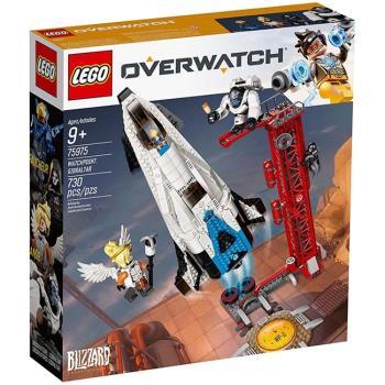 LEGO樂高積木 - Overwatch 鬥陣特攻系列 - 75975 捍衛者基地:直布羅陀 Watchpoint: Gibraltar