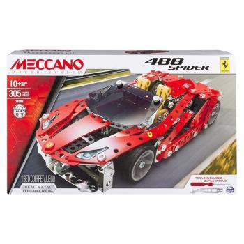 MECCANO 金屬組裝模型 - 法拉利488GTB跑車組