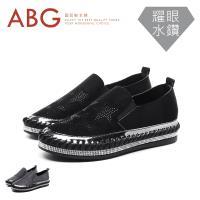【ABG】星星水鑽彈性休閒鞋 (2112+132)