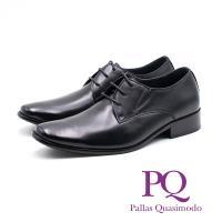 PQ 俐落尖頭德比鞋 男鞋 - 黑