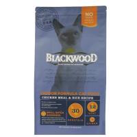Blackwood 柏萊富 室內貓全齡優活配方(雞肉+米) 貓飼料 13.23磅*1包