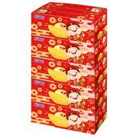 五月花 盒裝面紙-吉利財神150抽x5盒x10串