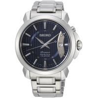SEIKO精工 Premier 藍寶石水晶萬年曆腕錶(藍/41.5mm) 6A32-00Z0B SNQ157J1