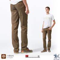 【NST Jeans】溫柔冷咖啡色 MUJI風 咖啡色休閒長褲(中腰) 390(5670)