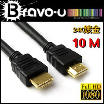 Bravo-u HDMI to HDMI 影音傳輸線 10M