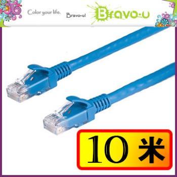 Bravo-u Cat6超高速傳輸網路線(10米)