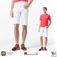 【NST Jeans】白色暖男 MUJI風 白色休閒短褲(中腰) 390(9458)