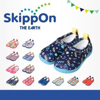 【日本SkippOn】「ISEAL VU系列」兒童休閒機能鞋(宇宙漫遊)