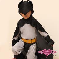 天使霓裳 正義帥氣蝙蝠俠 萬聖節童裝系列(灰M.L) HW0006