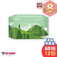 優生純淨柔濕巾88抽x12包-清爽型
