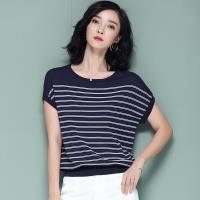 ALLK 條紋針織上衣 共2色(尺寸M-XL)