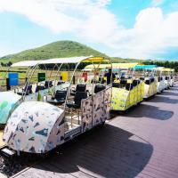 春季下殺-海陸濟州凱蒂貓泰迪熊鐵路自行車噴射快艇摩托車塗鴉雙秀4日旅遊