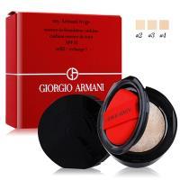 GIORGIO ARMANI 亞曼尼 訂製絲光精華氣墊粉蕊(含粉撲)SPF23 (#2、#3、#4) 3色可選 15g