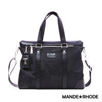 MANDE RHODE - 卡莫雷茲 - 美系潮男風格兩用托特包 - 迷彩黑【P6001】