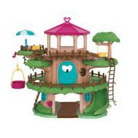 美國B.Toys-Lil Woodzeez橡菓精靈-哈樂黛樹屋