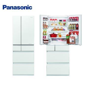 【贈商品卡3000元+雙肩背包+回饋10%東森幣+滿額送西堤】Panasonic國際牌 一級能效 500L六門變頻冰箱 (白色) NR-F504HX-W1 (庫)