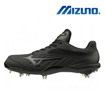 【MIZUNO 美津濃】GLOBAL ELITE QS 棒球釘鞋 黑 11GM191100