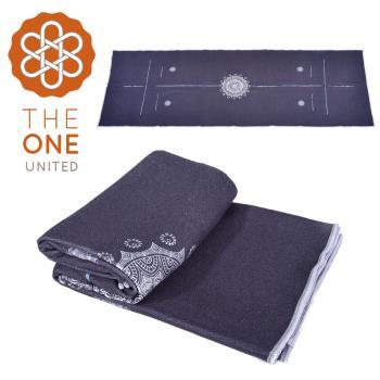 The One 鑽石紋正位線止滑瑜珈舖巾(二色任選)
