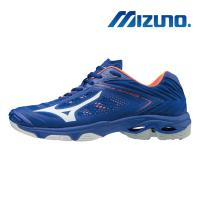 【MIZUNO 美津濃】WAVE LIGHTNING Z5 排球鞋 藍 V1GA190000