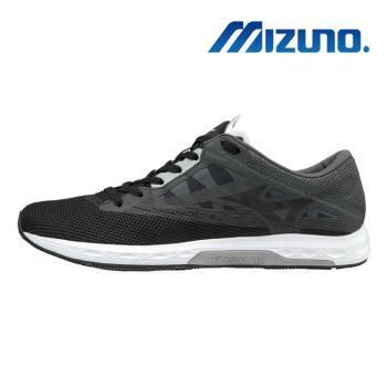 【MIZUNO 美津濃】WAVE SONIC 2 女馬拉松鞋 黑 U1GD193509