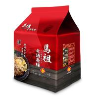 【五木】馬祖酒廠老酒麵線4入/袋裝(花雕雞風味)*12袋裝