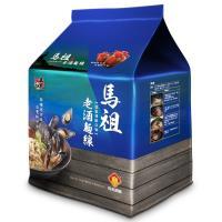 【五木】馬祖酒廠老酒麵線4入/袋(淡菜海鮮風味)*8袋裝