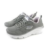 SKECHERS LITE-WEIGHT 休閒運動鞋 女鞋 針織 灰色 12719GYLV no949