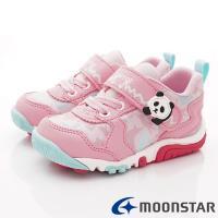 MOONSTAR-日本Carrot機能童鞋 2E玩耍速乾公園鞋 CRC22334粉(中小童段)