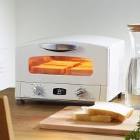 日本Sengoku Aladdin 千石阿拉丁 復古多用途烤箱(內附烤盤)-(白色)