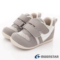 MOONSTAR-日本月星頂級童鞋 HI系列2E機能款 MSB77S67灰(寶寶段)