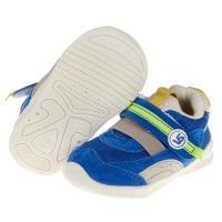 《布布童鞋》BABYVIEW頂級藍色透氣柔軟機能寶寶學步鞋(12.5~16公分) [ O9E075B ]