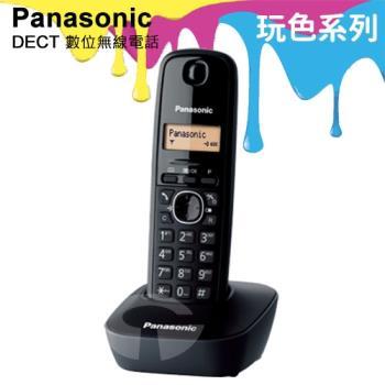 Panasonic 松下國際牌DECT數位無線電話 KX-TG1611 (曜石黑)