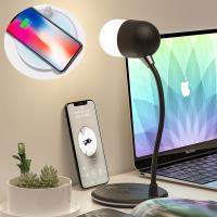 QHL 酷奇 - 馬卡龍色無線充電檯燈藍芽音響 現+預購 四色可選