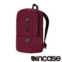 【Incase】Compass Backpack with Flight Nylon 15吋 輕巧膠囊飛行尼龍筆電後背包 (酒紅)