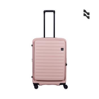 限定色款 LOJEL C-F1627 CUBO 前開擴充箱 26吋 粉色