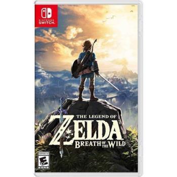 【Nintendo 任天堂】 薩爾達傳說:曠野之息 (日版)支援中文