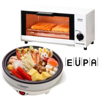 EUPA 優柏 5公升定時電烤箱+多功能料理鍋 TSK-K0698_2162