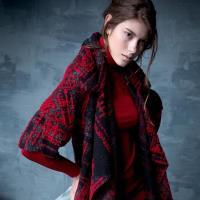 【龐吉 PANGCHI】翻領設計羊毛大衣(1522020-75/76)