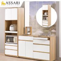 ASSARI-羅德尼6尺高收納電器櫃(寬60x深40x高181cm)