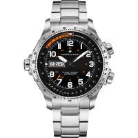 Hamilton 漢米爾頓 KHAKI X-Wind 御風者機械錶-黑x銀/45mm H77755133
