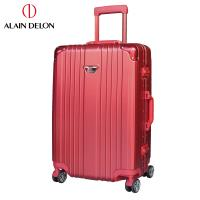 ALAIN DELON 亞蘭德倫 28吋流線雅仕系列行李箱  (紅)