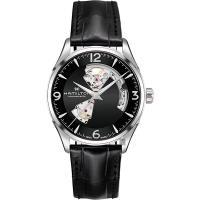 Hamilton 漢米爾頓 JAZZMASTER 爵士開心機械錶-黑/42mm H32705731