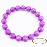 【w-jewelry】典雅紫雲母手珠(升值空間超大-促銷款)