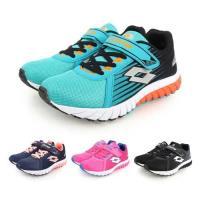 LOTTO 男女童疾速輕量跑鞋-魔鬼氈 童鞋 慢跑 路跑