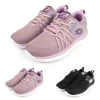 LOTTO 女花樣雙密度跑鞋-路跑 訓練 慢跑
