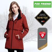 【FOX FRIEND】女款 GORE-TEX+PrimaLoft 輕量單件式防水透氣外套 1914