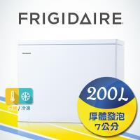 美國富及第Frigidaire 200L 商用等級冷藏冷凍櫃 FRT-2009HZR 福利品