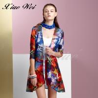 CHENG DA 春夏專櫃精品女裝時尚流行長版外套NO.011082