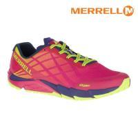 MERRELL 女 輕量赤足跑鞋ML12618【紅/綠】 BARE ACCESS FLEX / 城市綠洲